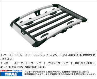 X rishisutemuratsuku (aluminum rack attachment)