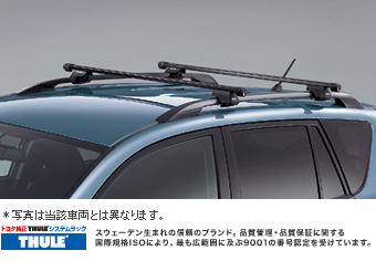 X rishisutemuratsuku (based rack (roof rail type))