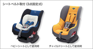 Child seat (G−Child plus [blue] [yellow])