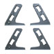 Multi system rack EXAT skiing rack vertical position reverse key 4 person