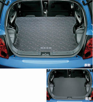Reversible luggage mat