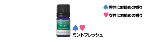 Aroma spread (essential oil [mint fresh])