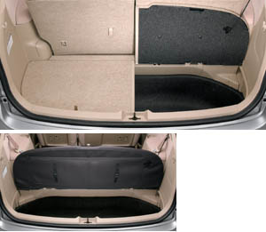 Luggage lid (separate type)