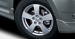Aluminum wheel (standard (/18 inch 17 inches))