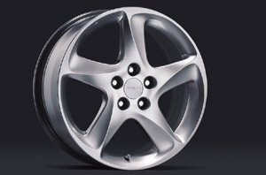 Aluminum wheel (dress rise (18 inches))
