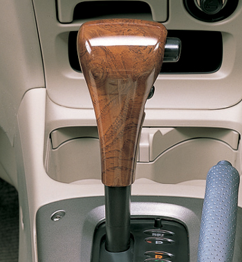 Wood pitch shift knob cover