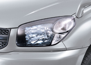 Make-up headlight (exchange system)