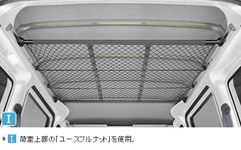 Overhead net (for multiple rail) multiple rail/overhead net (for multiple rail)