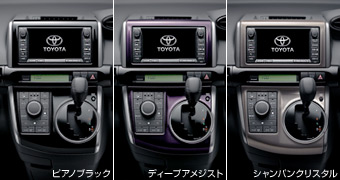 Interior panel (piano black) (deipuamejisuto) (champagne crystal)
