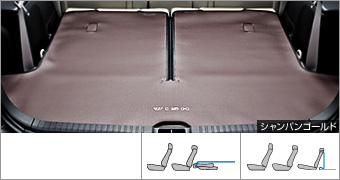 Long luggage mat (type 1)