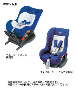 Child seat (G−Child ISO tether)