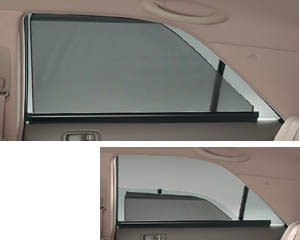Roll blind (rear doors roll shade)