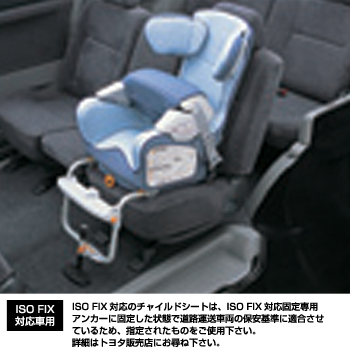 Seat base (G−Child ISO base) child seat (G−Child ISO)
