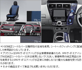 Interior set (type E) (for 2 line seat cars (blue)) Dress rise seat (set item (1,2nd line business blue))/Color DOS itchy panel (blue)/interior panel (set item (blue))(Primer)