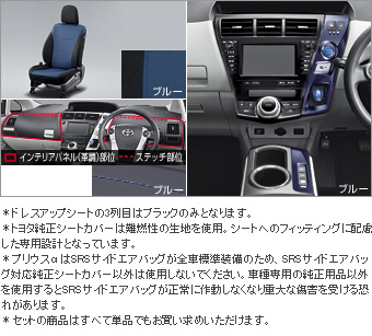 Interior set (type G) (for 3 line seat cars (blue)) Dress rise seat (set item (1,2nd line business blue) (3rd line business black))/Color DOS itchy panel (blue)/interior panel (set item (blue))(Primer)