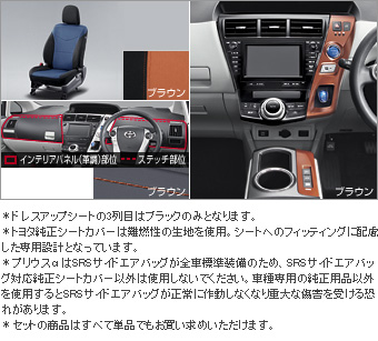 Interior set (type H) (for 3 line seat cars (Brown)) Dress rise seat (set item (1,2nd line business Brown) (3rd line business black))/Color DOS itchy panel (Brown)/interior panel (set item (Brown))(Primer)