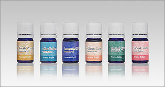 Aroma bright (essential oil fresh rosemary/mint refreshment/lavender smart/citrus cute/habarugurin/huroraruhuirudo)